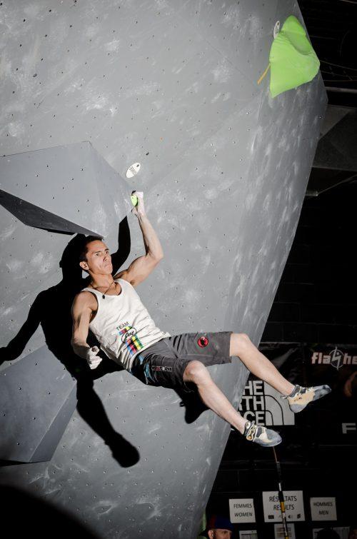 Climbing volumes Bouldering